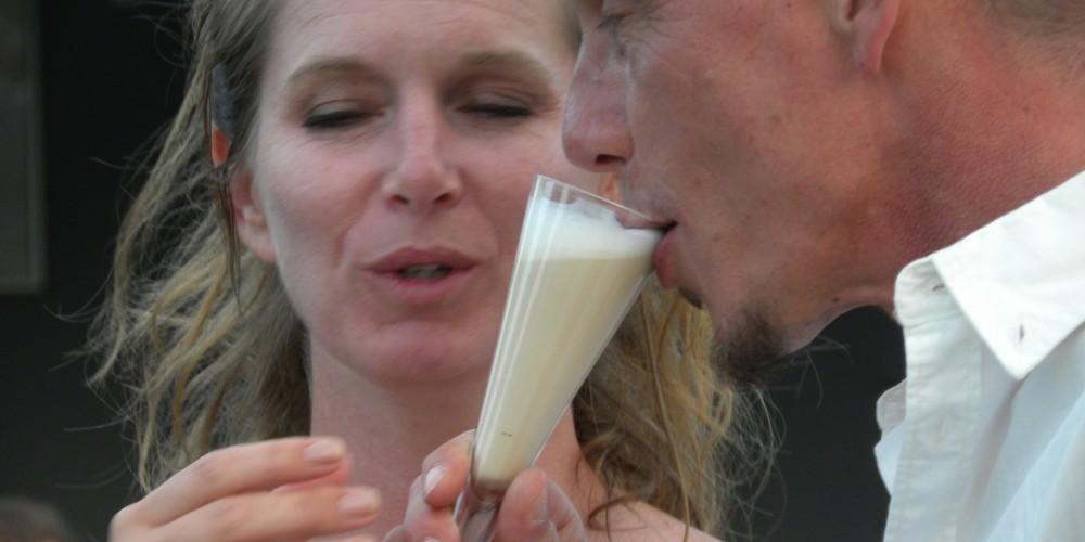 koffiespecial voor bruidspaar